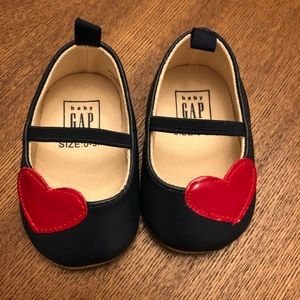 Baby Gap Heart Shoes